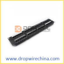 RJ45 UTP Patchpanels 2 HE Cat5e 110 IDC