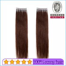 Brown Color 18inch Straight 100% Brazilian Human Virgin Hair Micro Ring Hair Extension Remy Hair
