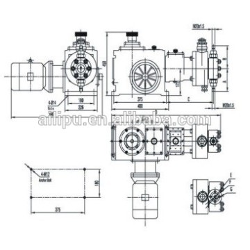 Phosphate Hydraulic Injection Pump