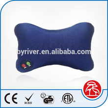hot wholesale bone shape car/home multi-purpose vibrating massage back pillows