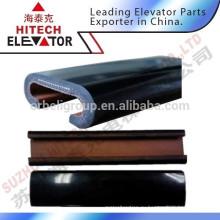 Эскалаторный ремень безопасности / резина черного цвета