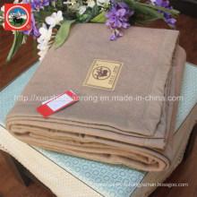 Couverture en laine de chameau / Tissu en cachemire / Textile en laine de yak / Literie