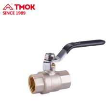 Válvula de bola de latón de alta calidad de 2 vías para control de flujo