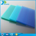4mm thick Windshield polycarbonate hollow sheet clear pc sheet