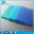 Factory offered types of 4mm twin wall polycarbonate greenhouse sheet price