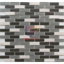 4mm Glass Mix Marble Crystal Mosaic Tile (CFS658)