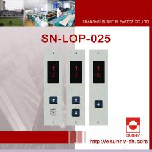 Painéis da cabine do elevador com exposição diferente (SN-LOP-025)