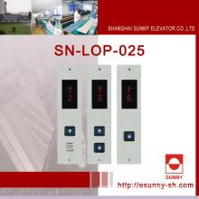 Aufzug Fahrerhaus Platten mit verschiedenen Display (SN-LOP-025)