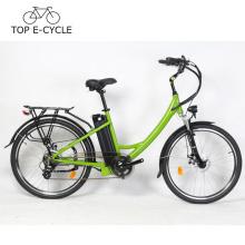 Spitzen-E-Fahrrad-niedriger konkurrenzfähiger Preis 26 Zoll-Stadt-elektrisches Fahrrad hergestellt in China