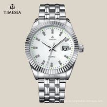 Mode Geschenk Edelstahl Uhr