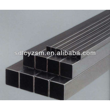 steel square tubing/steel square piping