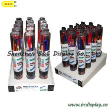 Boîte d'affichage de PDQ de lien d'engrenage de silicone, affichage de compteur (B & C-D055)
