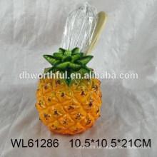 2016 Ananas Design Keramik Utensilien Halter für Küche