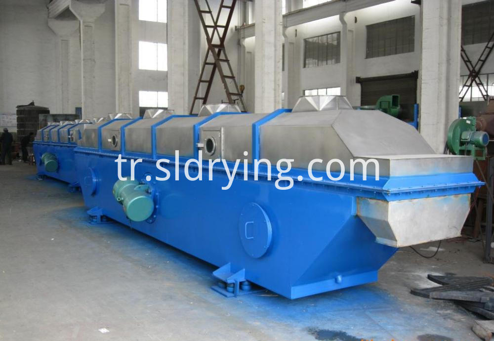 Citric acid vibrating fluidized bed dryer2