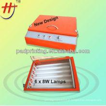 Conveniente para transportar mini foto polímero placa exposição máquina