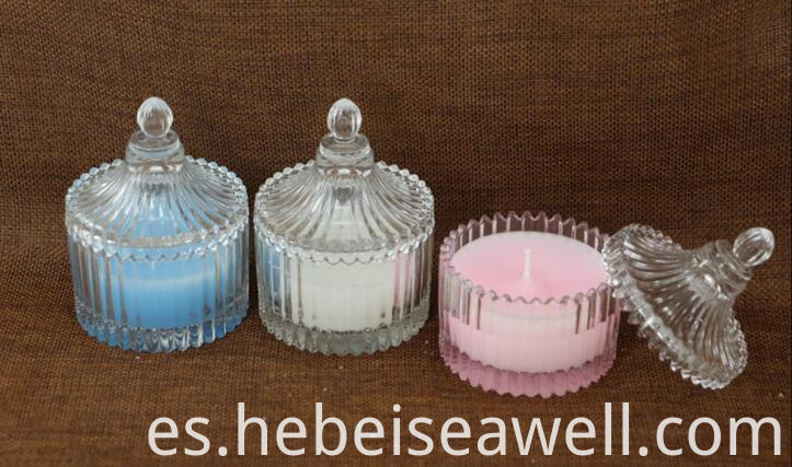 glass jar candle 3
