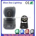 Professional China 7*10W RGBW dmx 4-in-1 mini led wash moving head