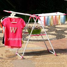 Rack de ropa de piso asequible para la venta