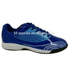 Blauer Fußballmann schuhe Stil Aktion Sport Schuhe Schuhe Sport