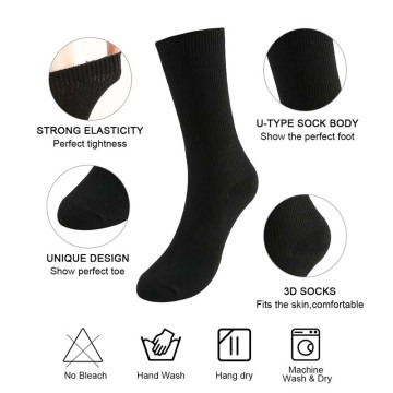 Womens Novetly Crew Baumwollsocken 4P