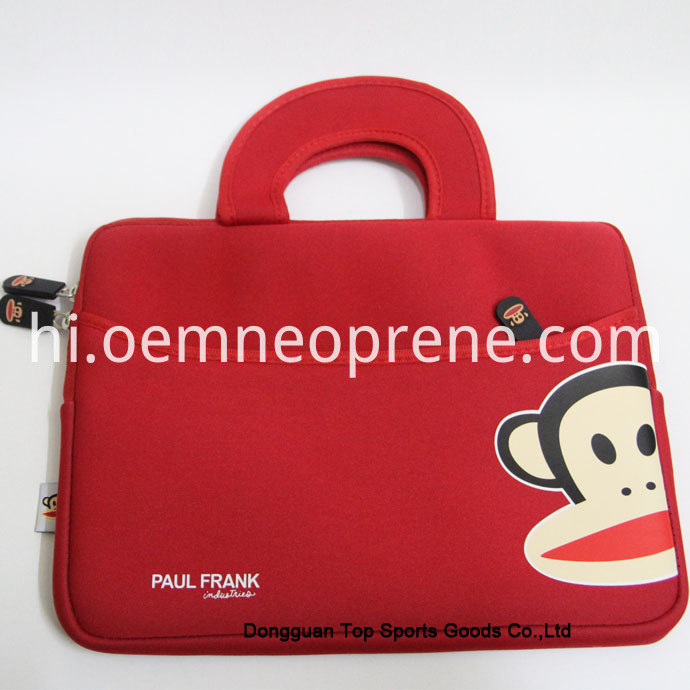 Alt Red Neoprene Laptop Bags