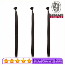 18inch Best Virgin Remy Human Hair Honey Blonde Straight Thick Hair End Flat Tip Hair Extensions