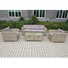Quente de alta qualidade Design moderno bom conjunto de sofá ao ar livre