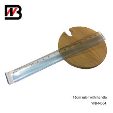 15cm PS Plastic Ruler for Office Supply and Stationery