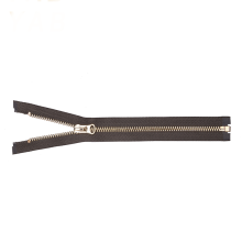 Popular Design Clothing Brass Metal Zipper