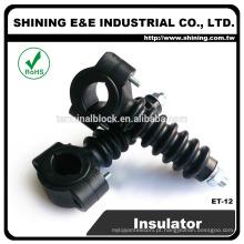 ET-12 M10 Black Resin Post Pin Line Electric 11Kv Insulator