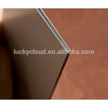 PVDF ACM Aluminium composite composite de façade en feuille de plastique