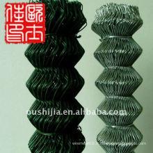 Clôture en caoutchouc enroulée en poudre et cloture en caoutchouc à 9 jauges