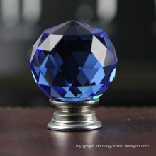 Closet Parts Moderne 30mm Blue Crystal Griffe