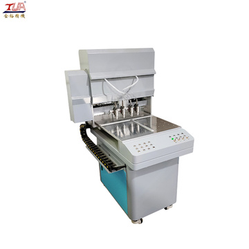Dongguan automatic pvc key chain making feeding machine