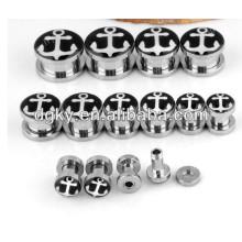 Neue Ankunfts-Körper-Schmucksache-Chirurgischer Stahl-Piercing-Ohr-Stecker