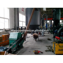 Bambu / casca de arroz / palha Máquina de fresar madeira, máquina de fabricação de pó de madeira