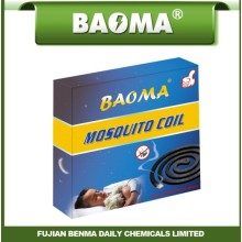 12 Horas Hot Sell Baoma Incienso Mosquito Repelente Preto