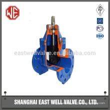 Válvulas de porta solenóide de placa plana