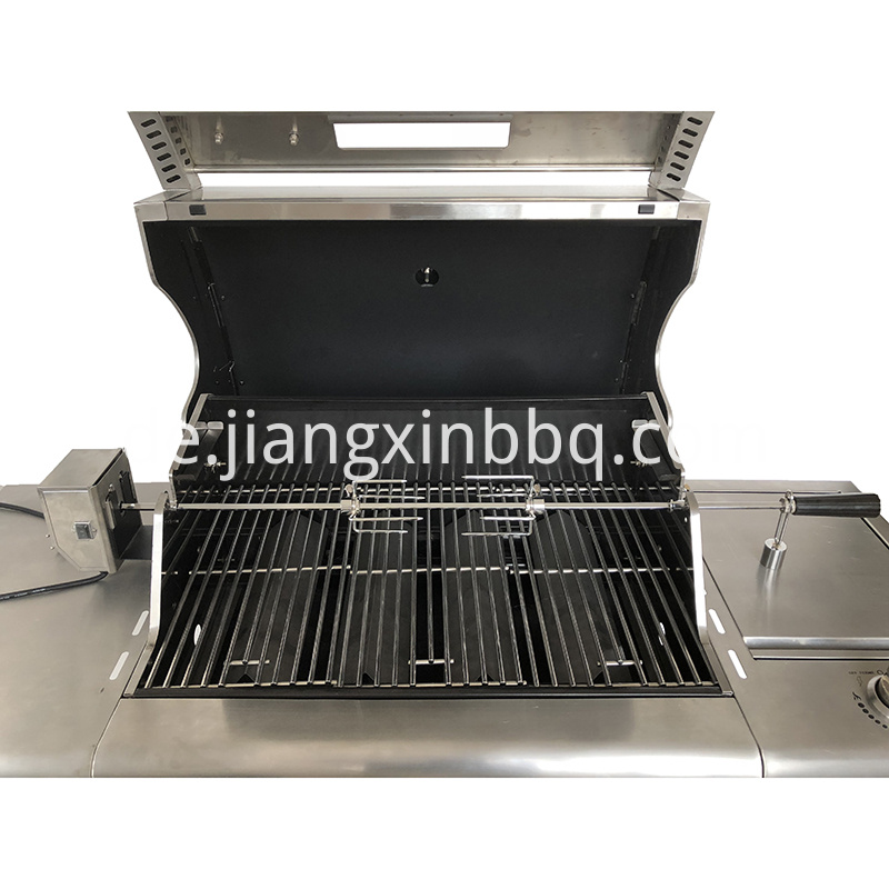Rotisserie Kit With Ipx4 Motor Overall View