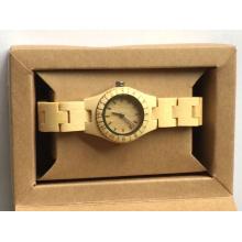 Rade Assurance W00-Dr Relojes de pulsera para hombres Vintage Wood Deer Head Designer Bamboo Wood Relojes de pulsera de madera Relojes Hombres
