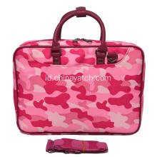 Laptop Pink dengan Handle PU