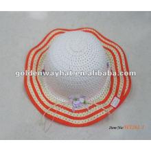 Chapeaux de plage colorés pour filles en gros