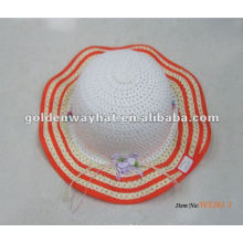 Colorful girls beach hats wholesale