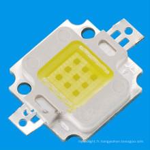 10W LED haute puissance avec puce à bord (COB)