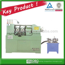 Steel rod automatic thread rolling machine