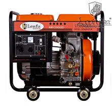 Generador diesel de tipo abierto modelo 5kVA popular para Etiopía