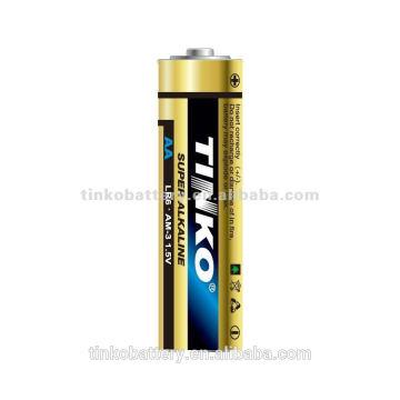 Поставщиком батарею и производство lr6 сухие батареи