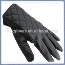 Promotion Touch Handschuh Leder Touch Handschuh mit Platz für Männer