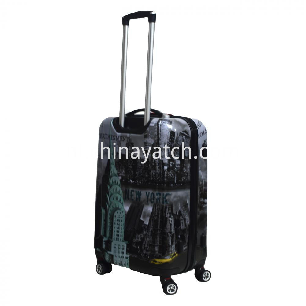 Travel series printing luggage