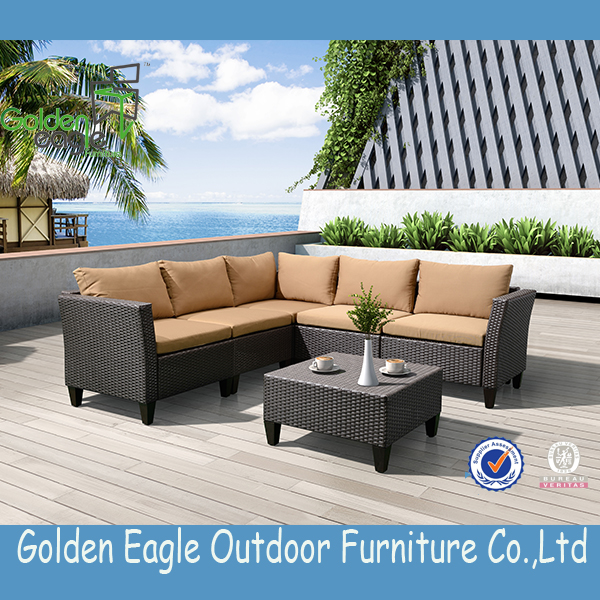Popular Wicker Waterproof Outdoor Furniture